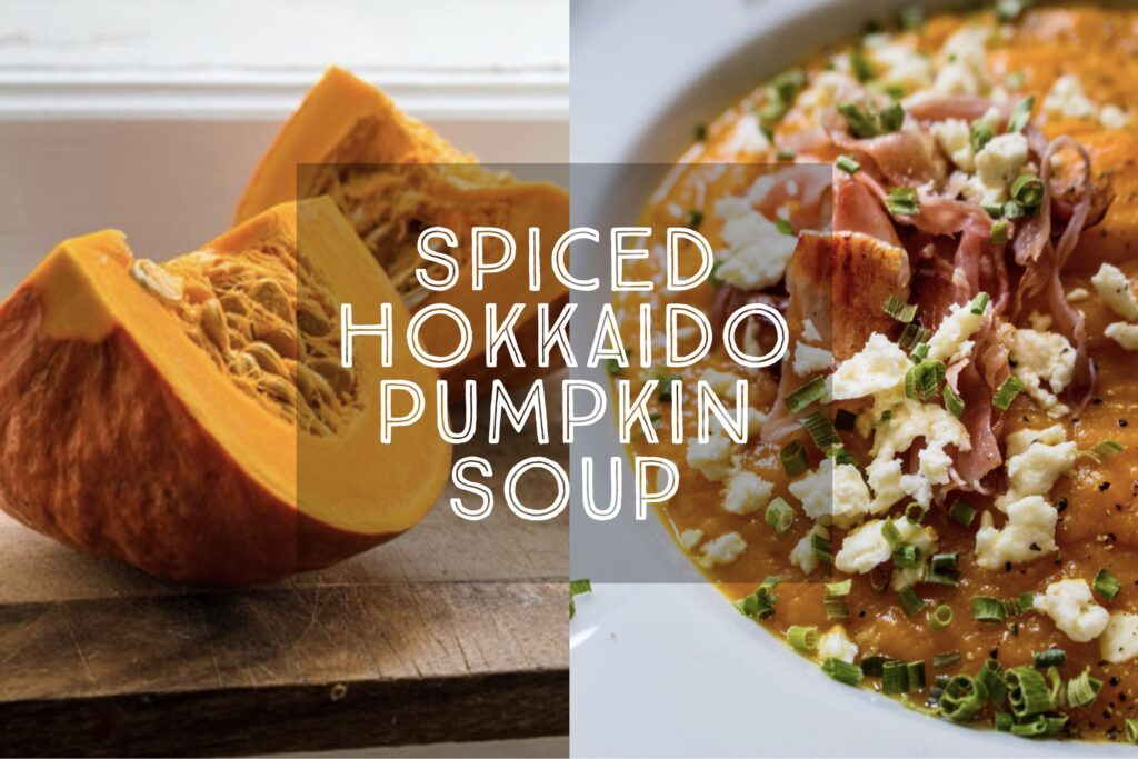 Spiced Hokkaido Pumpkin Soup