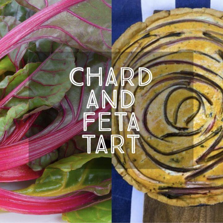 Chard and Feta Tart