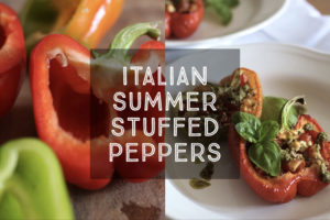Italian Summer Stuffed Peppers