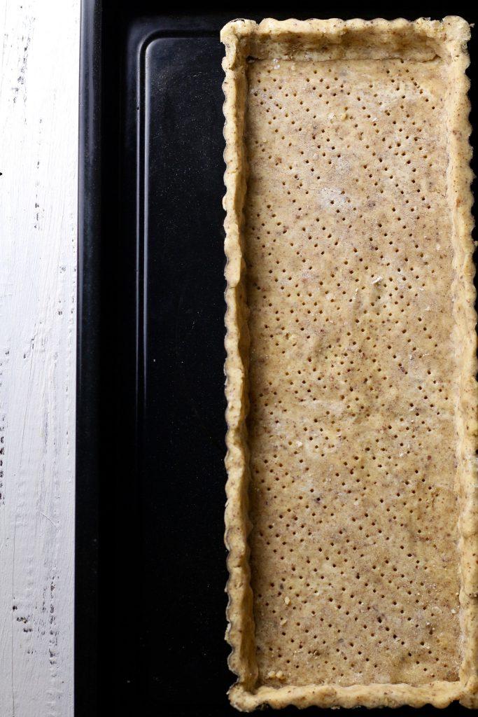 Honey Lemon Raspberry Tart