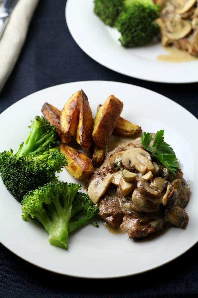 Pork Neck for Creamy Mushroom Pork Steaks