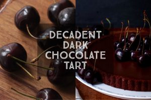 Decadent Dark Chocolate Tart