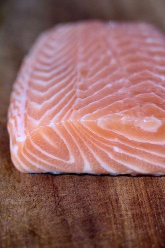 Salmon for Earl Grey Smoked Salmon