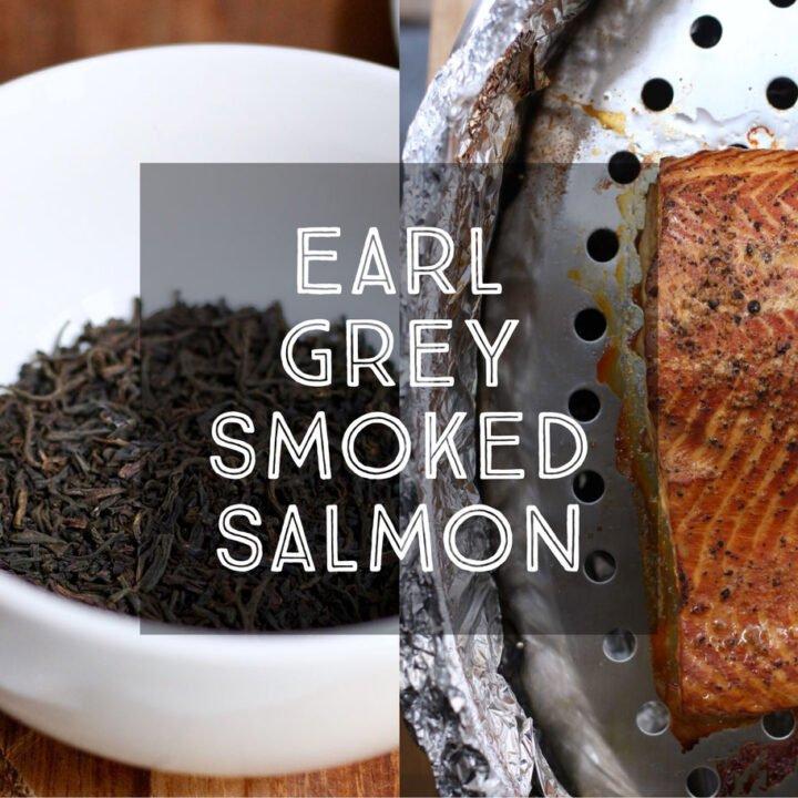 Earl Grey Smoked Salmon