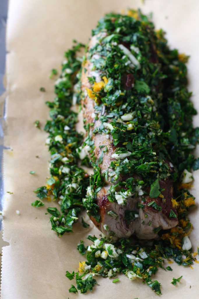 Garlic Herb Roast Pork