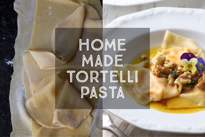 Home Made Tortelli Pasta