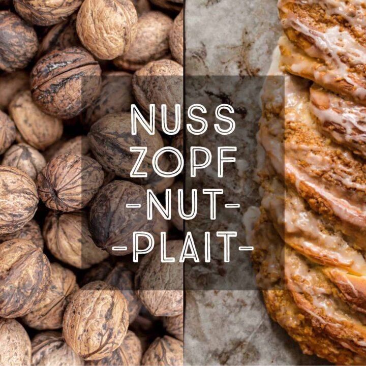 German Nut Plait Nusszopf Nußzopf