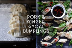 Pork and Ginger Gyoza Dumplings