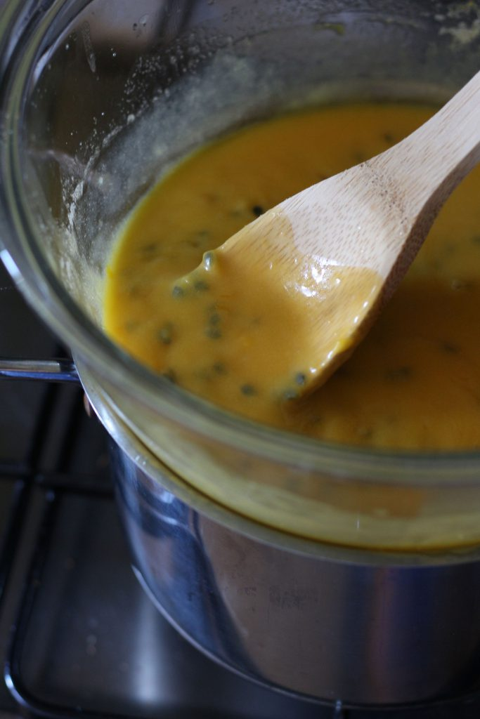 Tangy Passionfruit Curd