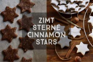 Zimtsterne Cinnamon Stars