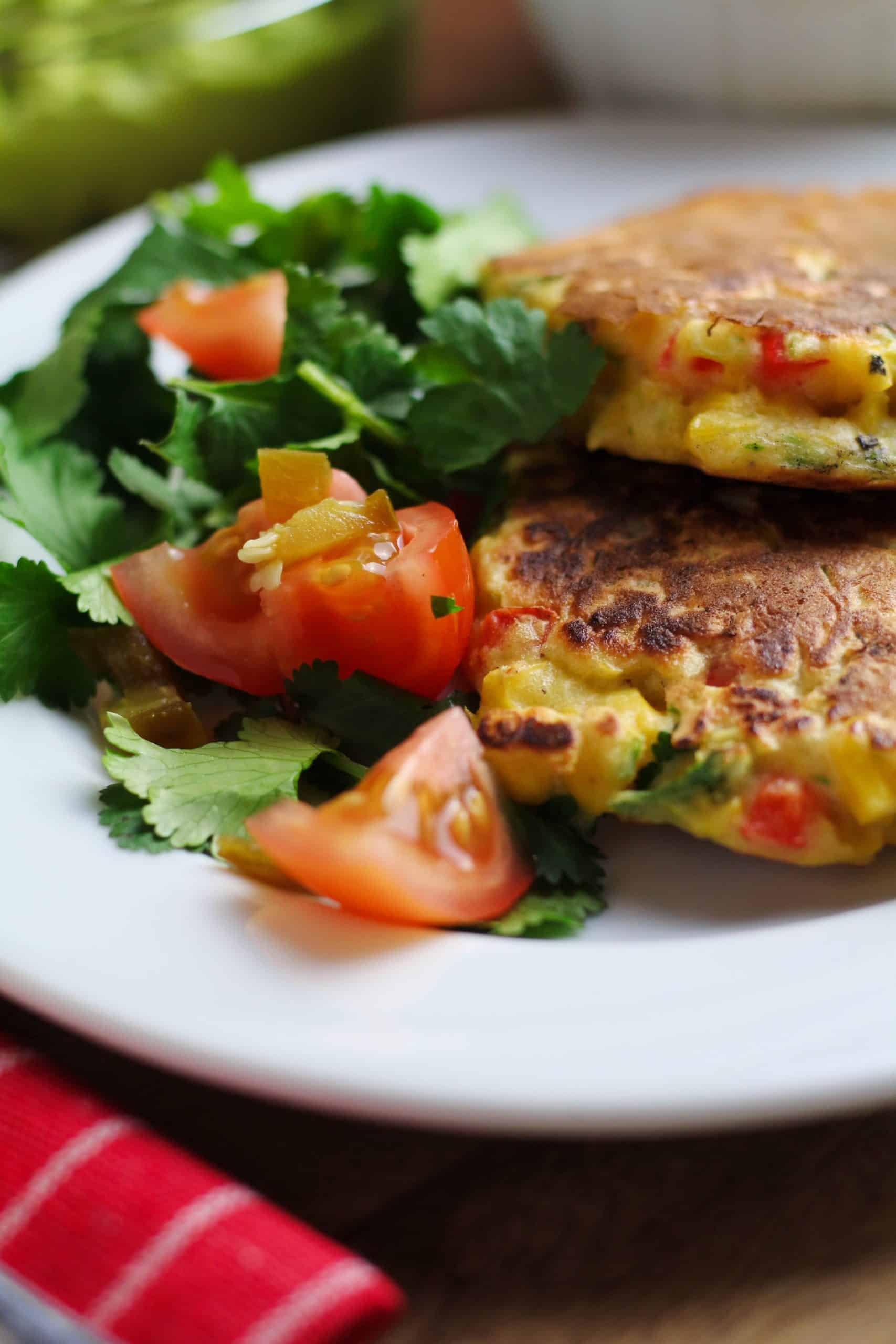 Easy Sweetcorn Fritters