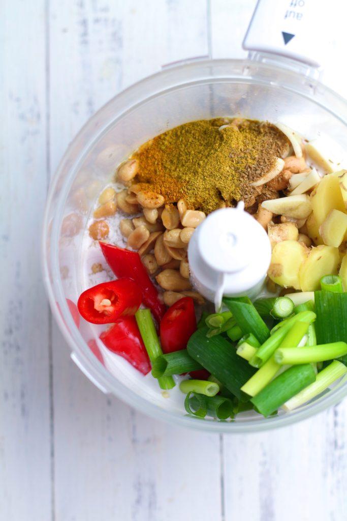 Satay Marinade Ingredients