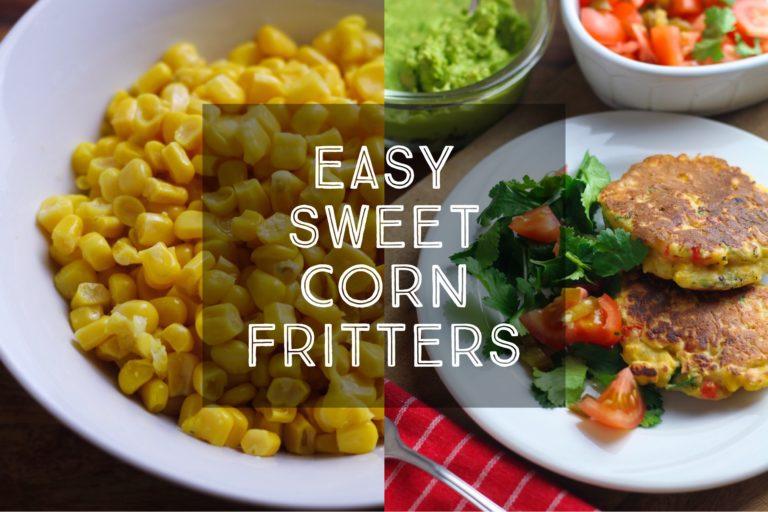 Easy Sweet Corn Fritters