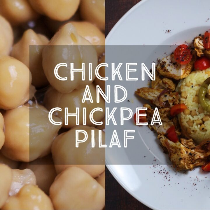 Chicken and Chickpea Pilaf