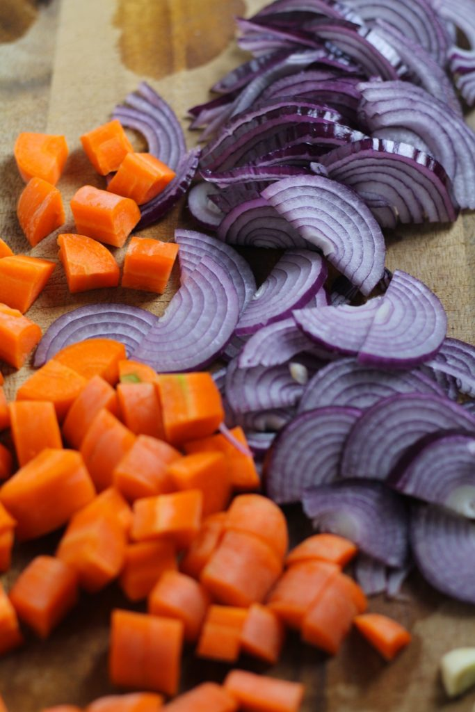 Red Onion and Carrot