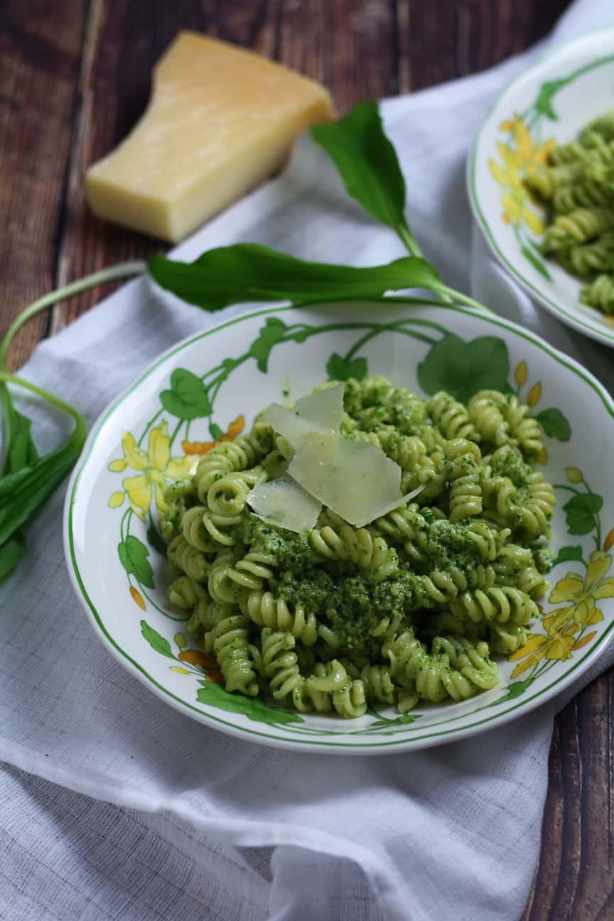 Vibrant Wild Garlic Pesto