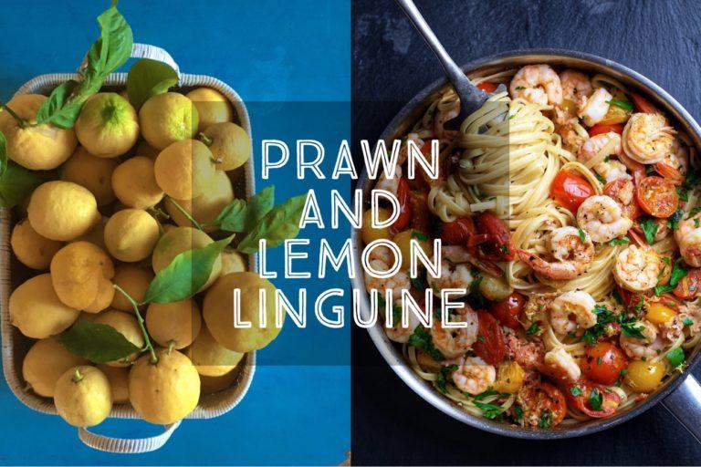 Prawn and Lemon Linguine
