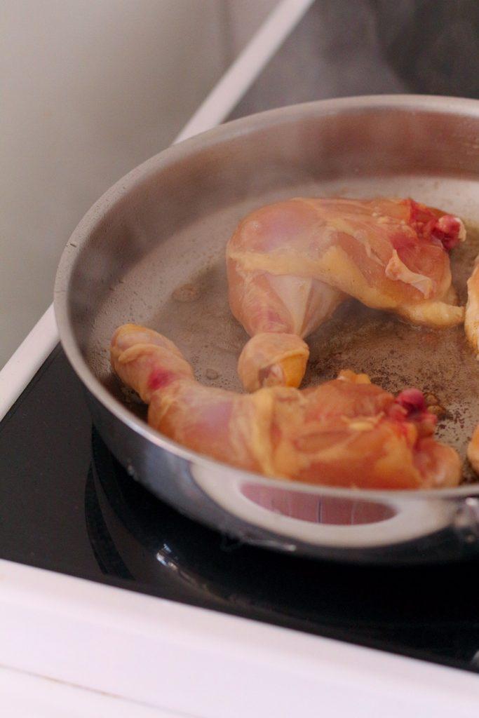 Chicken Legs cooking