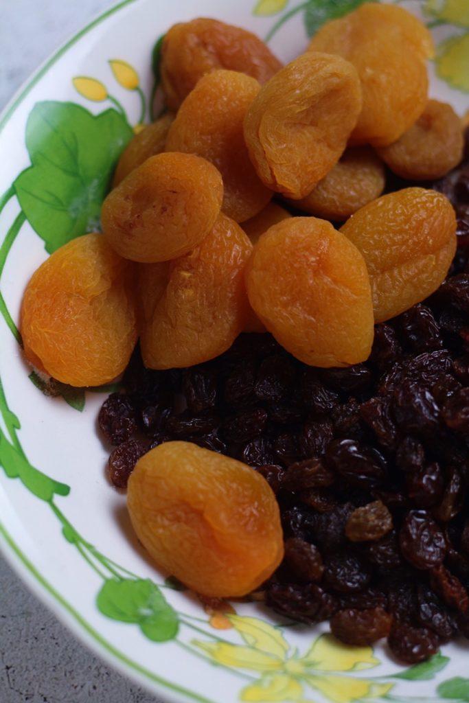Apricots and Raisins