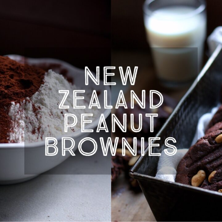 New Zealand Peanut Brownies