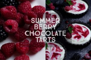 Summer Berry Chocolate Tarts