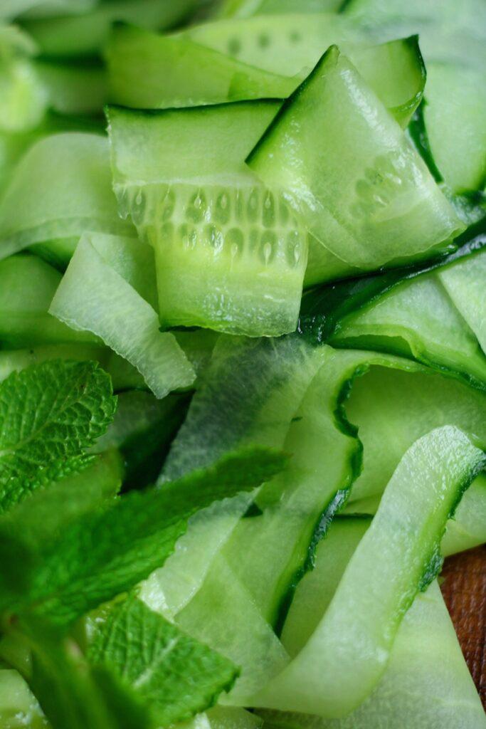 Cucumber Ribbons