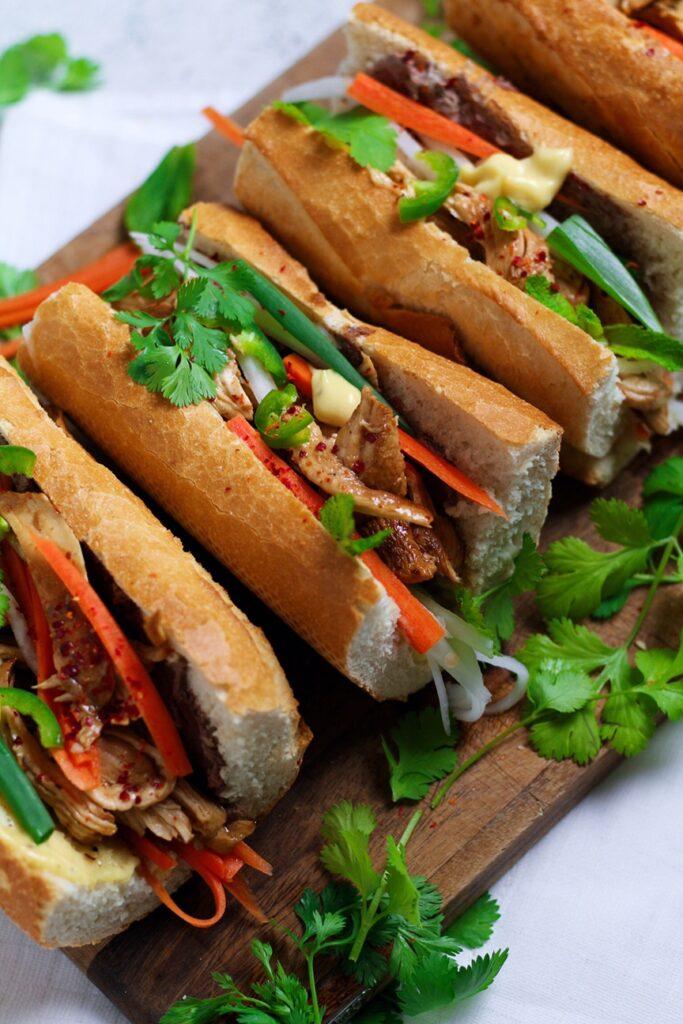 Vietnamese Chicken Bahn Mi