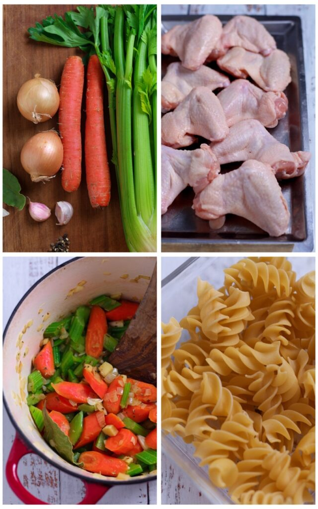 Chicken and Noodle Soup Ingredients