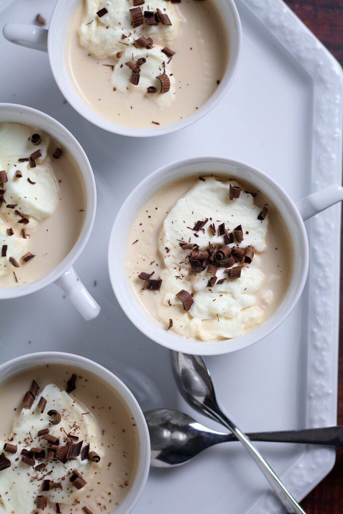Viennese Coffee Panna Cotta