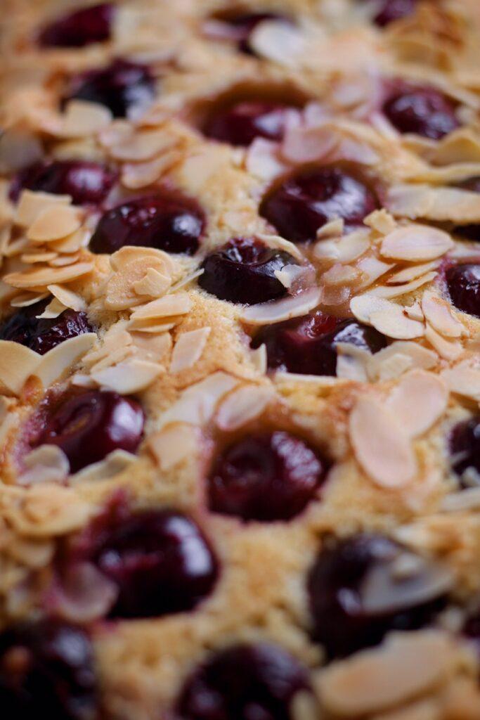 Cherry Almond Frangipane Tart