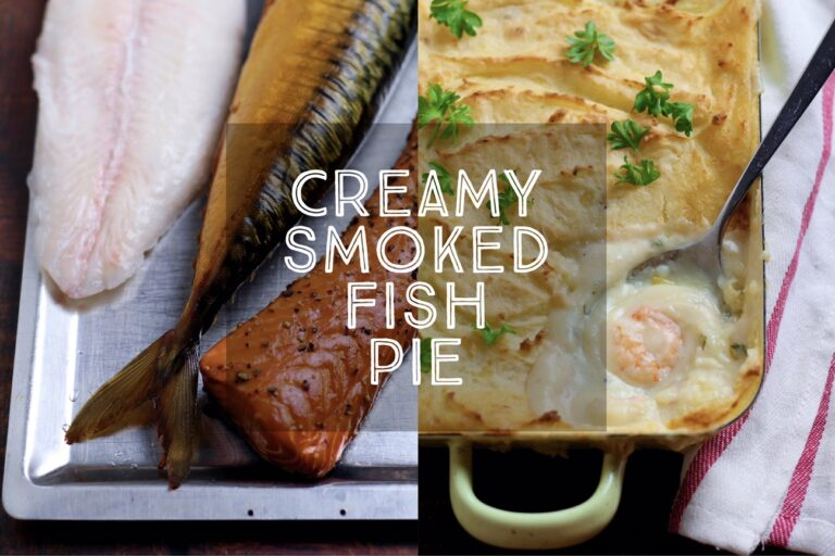Creamy Smoked Fish Pie