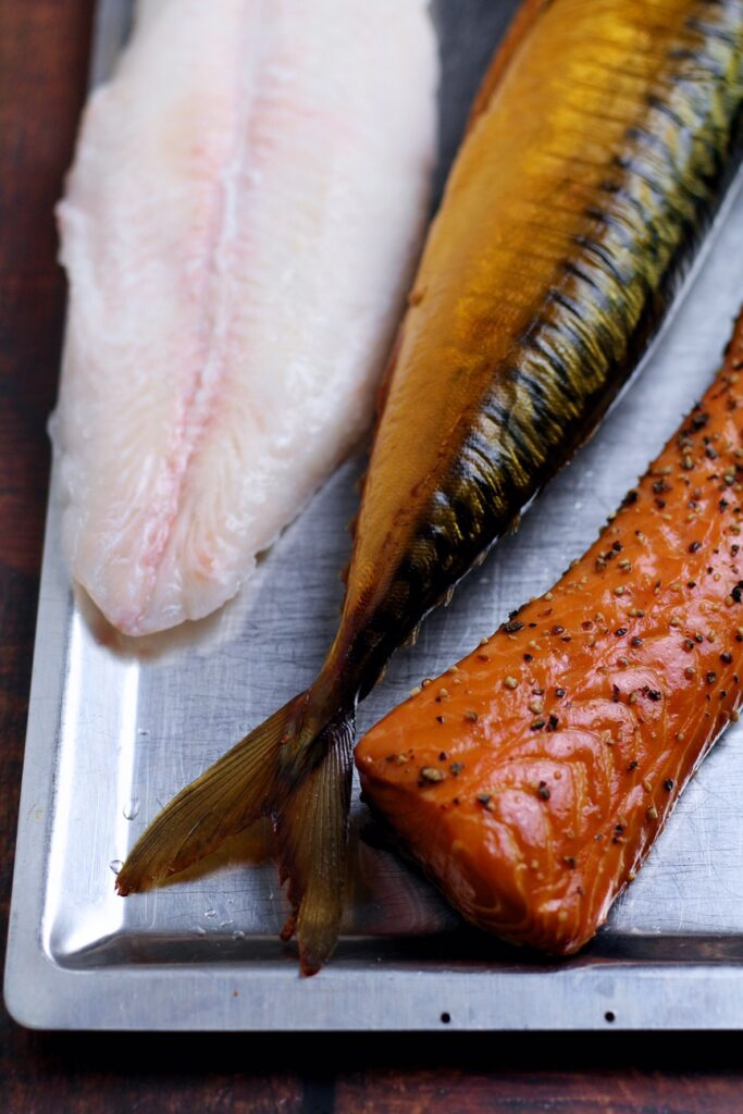 Use a good mixture of fish to make Creamy Smoked Fish Pie