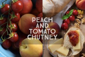 Peach and Tomato Chutney