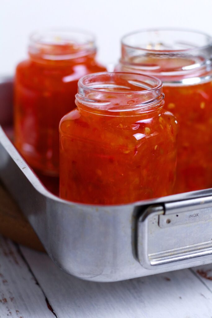 Spicy Red Pepper Jelly