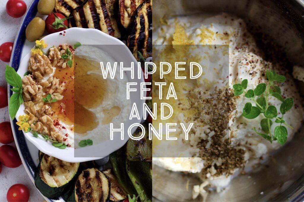 Whipped Feta and Honey