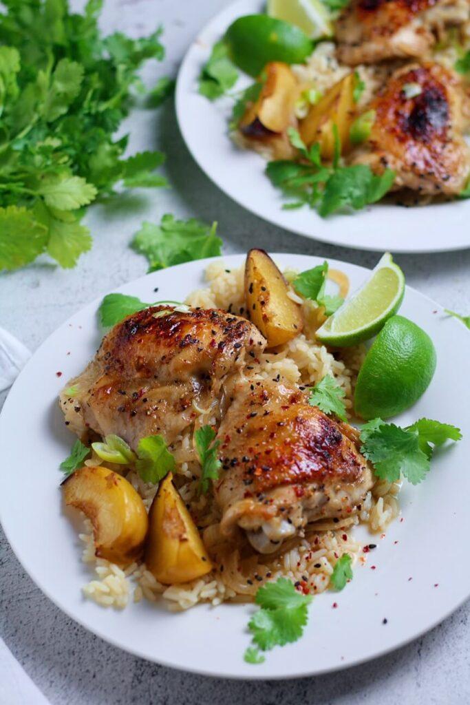 Baked Honey Lime Chicken