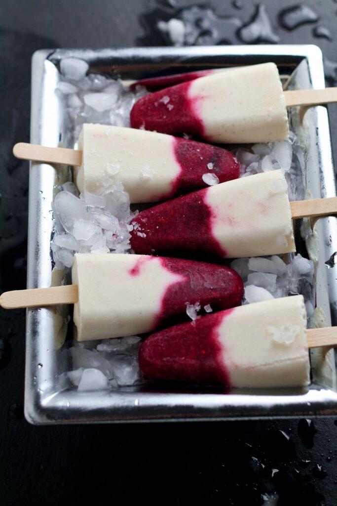 Banana Berry Ice Creams