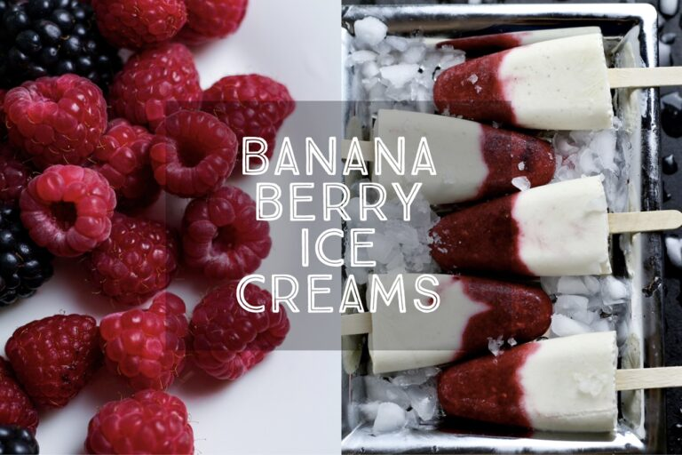 Banana Berry Ice Creams