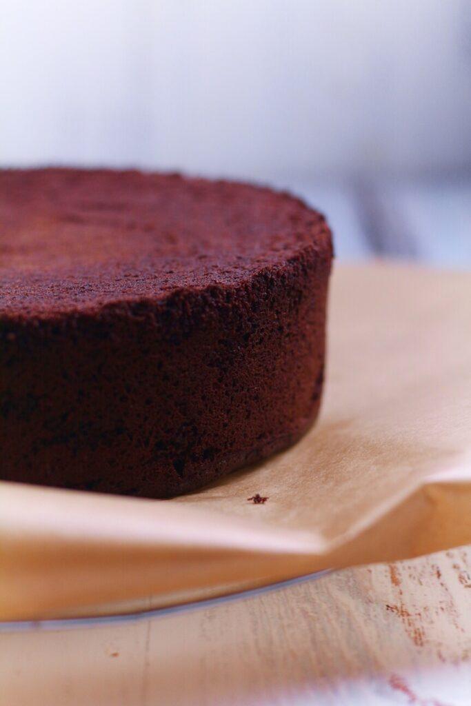 Chocolate Genoise Sponge Black Forest Cherry Cake