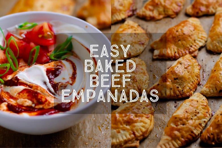 Easy Baked Beef Empanadas