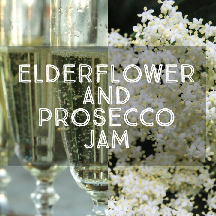 Elderflower and Prosecco Jam