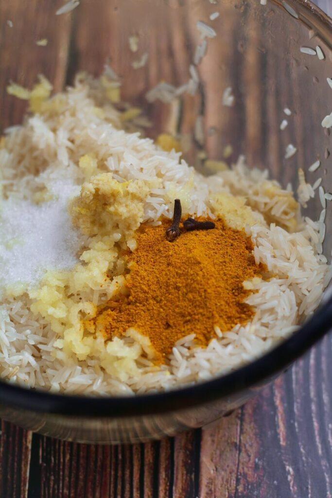 Spices for Chicken Biriyani