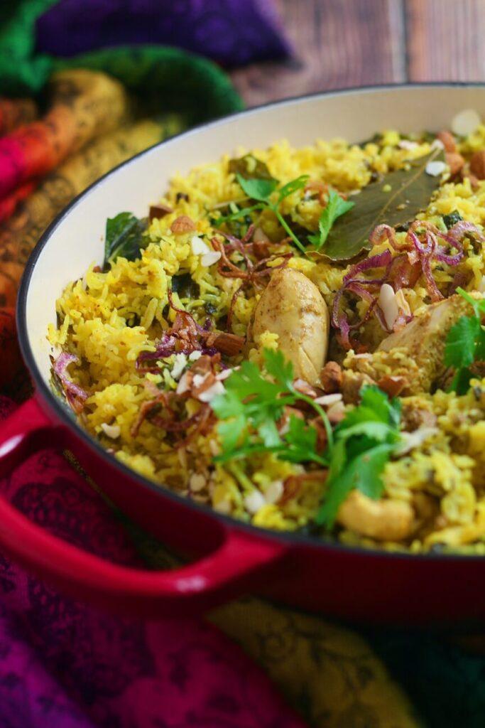 Homemade Chicken Biriyani