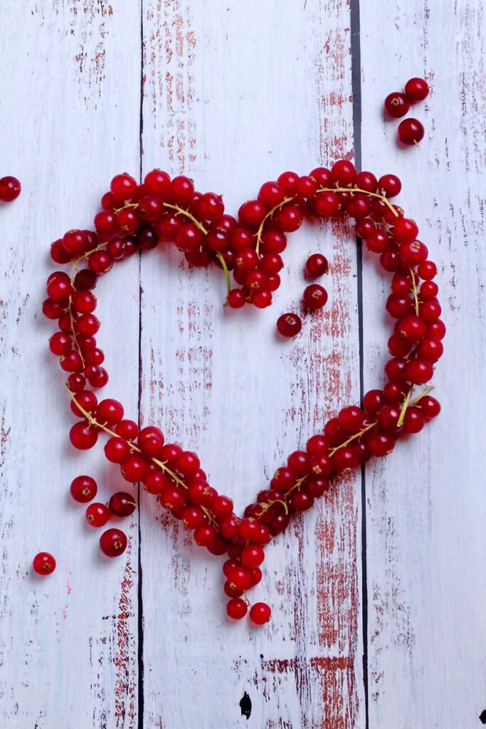 Red Currant Heart