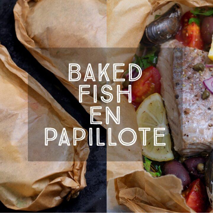 Baked Fish En Papillote