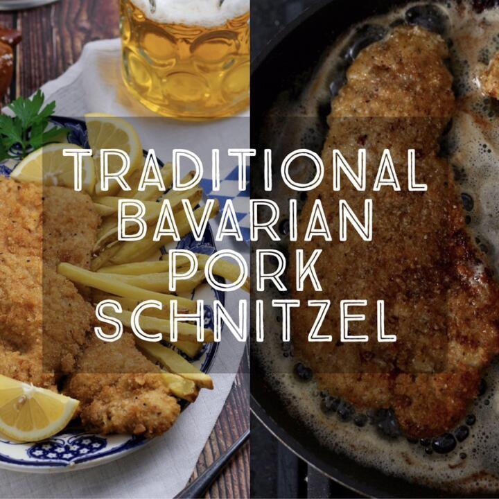 Bavarian Pork Schnitzel