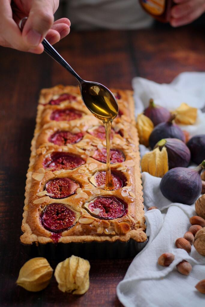 Fig and Honey Tart