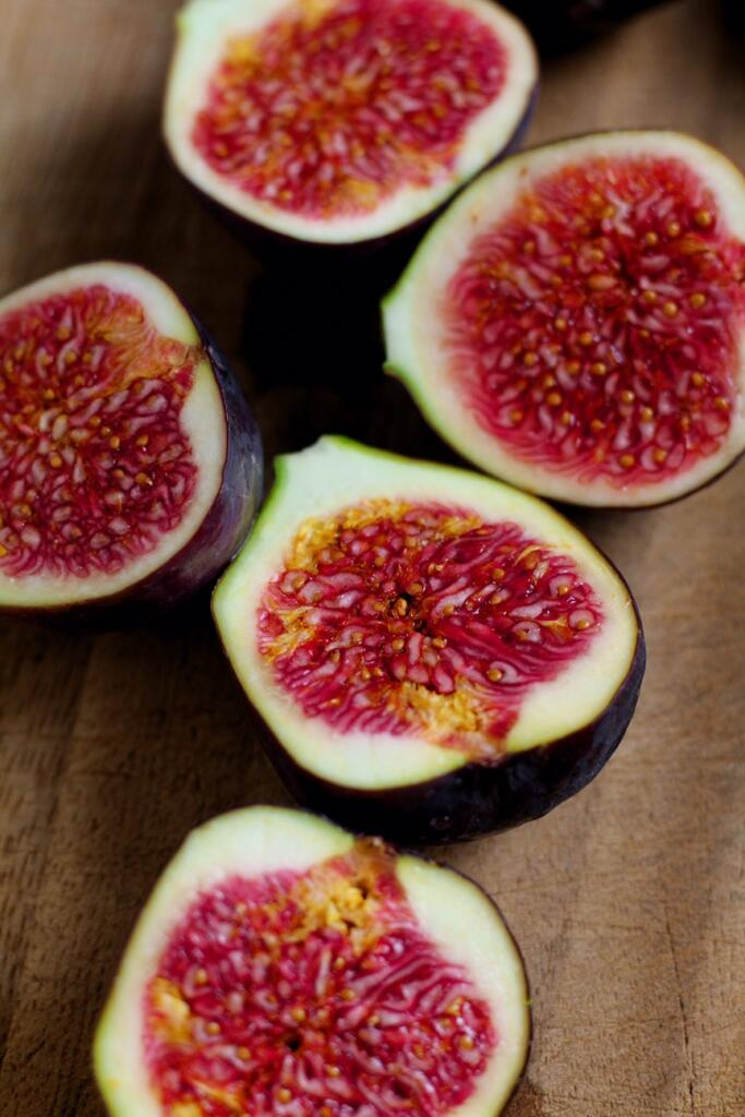 Figs for Fig and Honey Tart