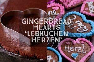 Gingerbread Heasts Lebkuchenherzen
