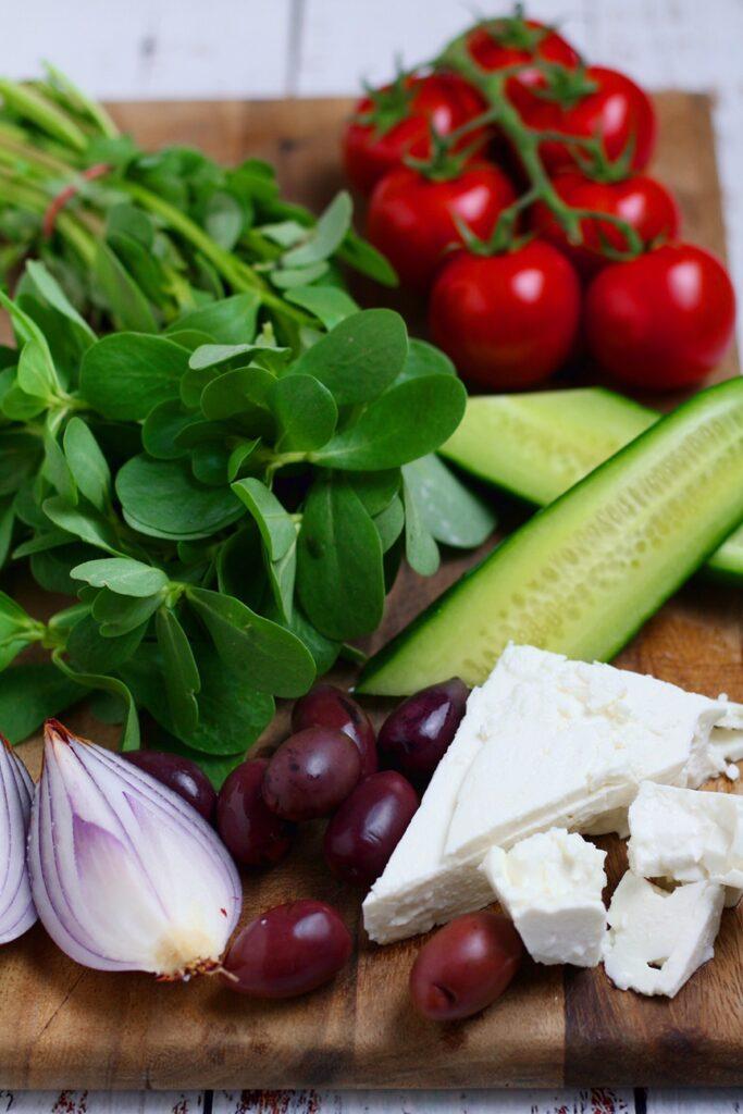 Greek Village Salad Horiatiki